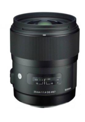 Стандартный объектив Sigma AF 35mm f/1,4 DG HSM FOR CANON ART