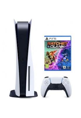Стационарная игровая приставка Sony Playstation 5 825GB + Ratchet & Clank: Rift Apart