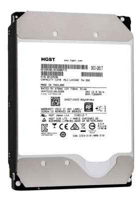 Жесткий диск HGST Ultrastar DC HC510 12tb 3.5 SAS-3 (OF29530)