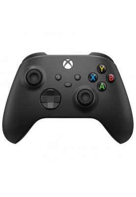 Геймпад Microsoft Xbox Series X | S Wireless Controller Carbon Black + USB Cable (XOA-0010, 1V8-00002)