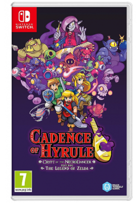Игра для Nintendo CANDENCE OF HYRULE-CRYPT OF THE NECRO NS