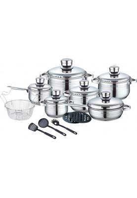 Набор посуды 18 предметов Royalty Line RL-1802