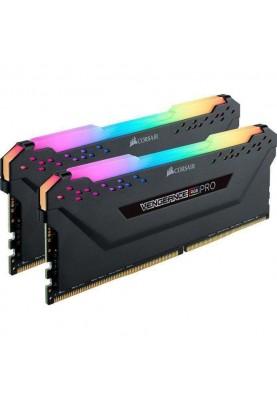 Память Corsair 64 GB (2x32GB) DDR4 3200 MHz Vengeance RGB Pro (CMW64GX4M2E3200C16)