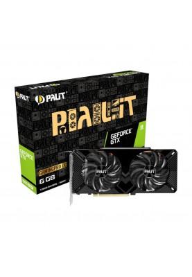 Видеокарта Palit GeForce GTX 1660 SUPER GP OC (NE6166SS18J9-1160A-1)