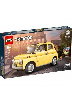 Авто-конструктор LEGO Fiat 500 (10271)