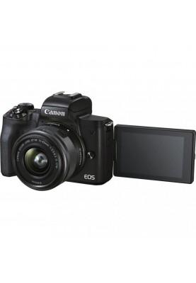 Беззеркальный фотоаппарат Canon EOS M50 Mark II kit (15-45mm) IS STM Black (4728C043)