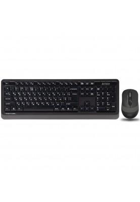 Комплект (клавиатура + мышь) A4Tech Fstyler FG1010 Black/Grey