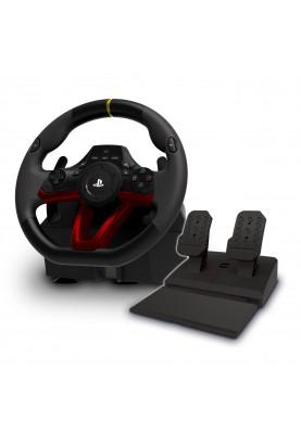 Комплект (руль, педали) Hori Wireless Racing Wheel APEX for PlayStation 4 (PS4-142E)