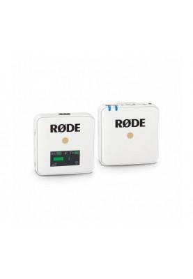 Накамерная радиосистема Rode Wireless GO WHITE