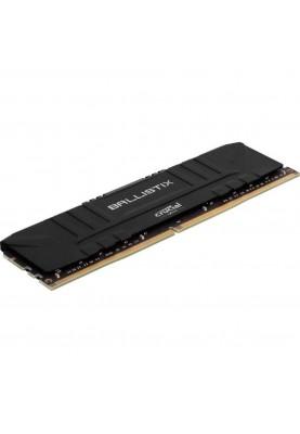 Оперативная память Crucial 16 GB (2x8GB) DDR4 3000 MHz Ballistix Black (BL2K8G30C15U4B)