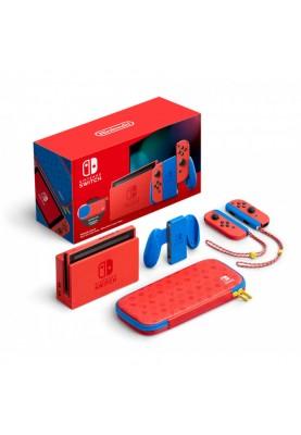 Портативная игровая приставка Nintendo Switch Mario Red & Blue Edition