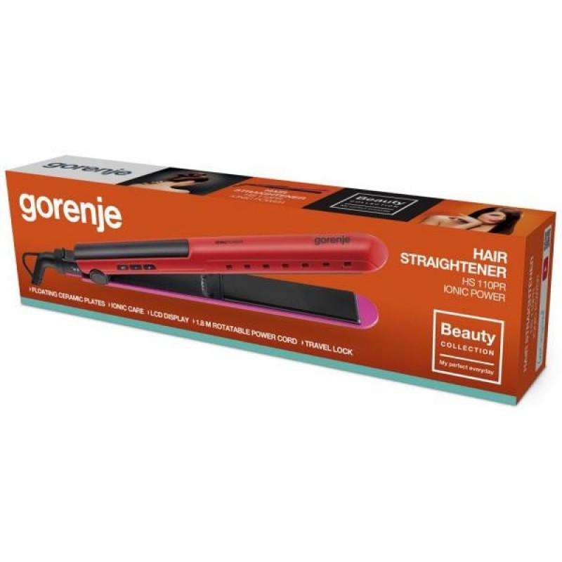 Утюжок для волос Gorenje HS110PR