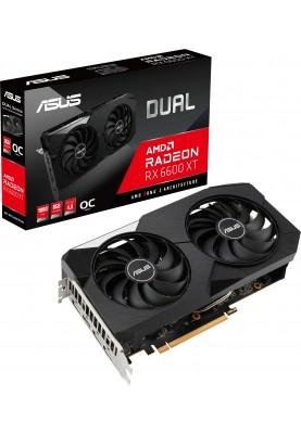 Видеокарта ASUS DUAL RX 6600XT OC 8GB GDDR6 (90YV0GN1M0NA00)